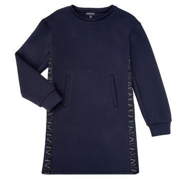 Odjeća Djevojčica Kratke haljine Emporio Armani 6H3A07-1JDSZ-0920 Blue