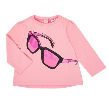 Odjeća Djevojčica Majice dugih rukava Emporio Armani 6HET02-3J2IZ-0315 Ružičasta