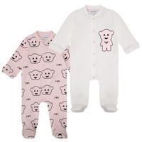 Odjeća Djevojčica Pidžame i spavaćice Emporio Armani 6HHV06-4J3IZ-F308 Ružičasta