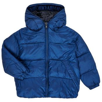 Odjeća Dječak  Pernate jakne Emporio Armani 6H4BF9-1NLYZ-0975 Blue