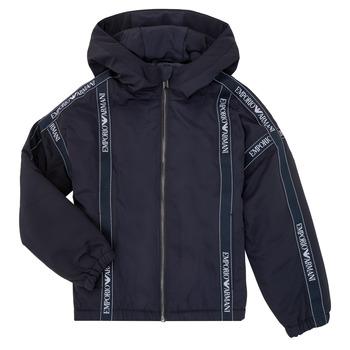 Odjeća Dječak  Kratke jakne Emporio Armani 6H4BL0-1NYFZ-0920 Blue