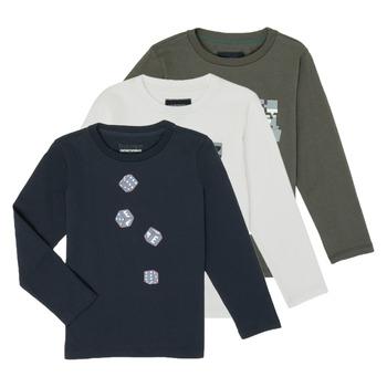 Odjeća Dječak  Majice dugih rukava Emporio Armani 6H4D01-4J09Z-0564 Multicolour