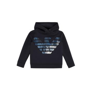 Odjeća Dječak  Sportske majice Emporio Armani 6H4MA9-1JDSZ-0920 Blue