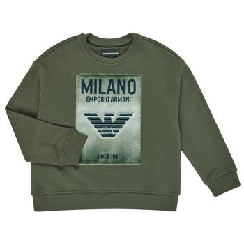 Odjeća Dječak  Sportske majice Emporio Armani 6H4MM1-4J3BZ-0564 Kaki