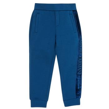 Odjeća Dječak  Donji dio trenirke Emporio Armani 6H4P84-1JDSZ-0975 Blue