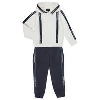 Odjeća Dječak  Dvodijelne trenirke Emporio Armani 6H4V02-1JDSZ-0101 Bijela