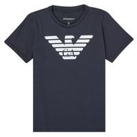 Odjeća Dječak  Majice kratkih rukava Emporio Armani 8N4T99-1JNQZ-0939 Blue