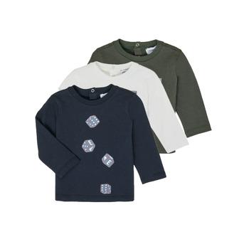 Odjeća Dječak  Majice dugih rukava Emporio Armani 6HHD21-4J09Z-0564 Multicolour