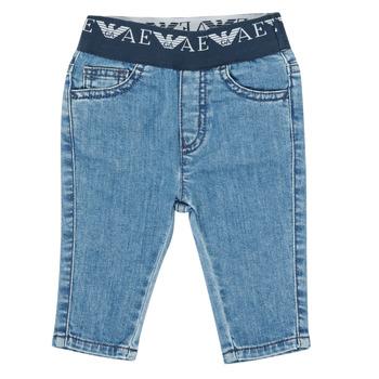 Odjeća Dječak  Slim traperice Emporio Armani 6HHJ07-4D29Z-0942 Blue