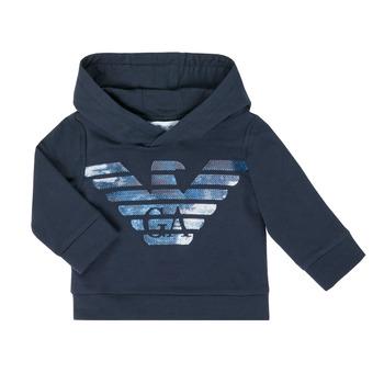 Odjeća Dječak  Sportske majice Emporio Armani 6HHMA9-4JCNZ-0922 Blue