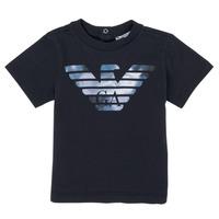 Odjeća Dječak  Majice kratkih rukava Emporio Armani 6HHTA9-1JDXZ-0920 Blue