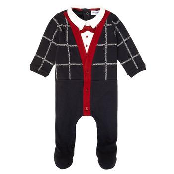 Odjeća Dječak  Pidžame i spavaćice Emporio Armani 6HHD12-4J3WZ-F912 Multicolour