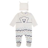 Odjeća Dječak  Pidžame i spavaćice Emporio Armani 6HHV08-4J3IZ-0101 Bijela / Blue