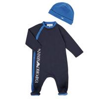 Odjeća Dječak  Pidžame i spavaćice Emporio Armani 6HHV12-4J3CZ-0922 Blue