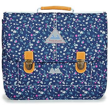 Torbe Djevojčica Školske torbe Poids Plume FLEURY CARTABLE 38 CM Blue