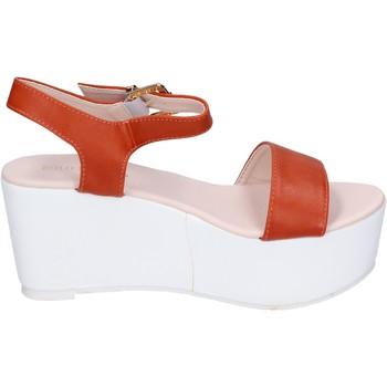 Obuća Žene  Sandale i polusandale Solo Soprani sandali pelle sintetica Arancio