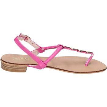 Obuća Žene  Sandale i polusandale Solo Soprani sandali pelle sintetica Rosa