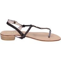 Obuća Žene  Sandale i polusandale Solo Soprani sandali pelle sintetica Marrone