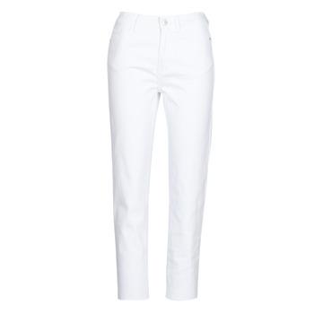 Odjeća Žene  Hlače s pet džepova Only ONLEMILY Bijela