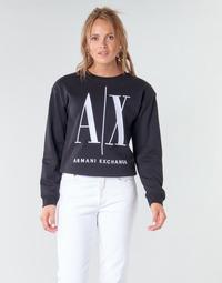 Odjeća Žene  Sportske majice Armani Exchange 8NYM02 Crna
