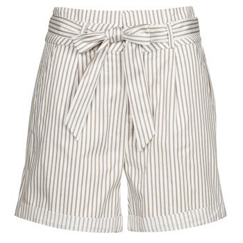 Odjeća Žene  Bermude i kratke hlače Vero Moda VMEVA Bijela / Bež
