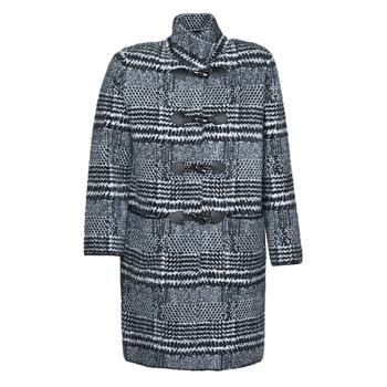 Odjeća Žene  Kaputi Derhy SAISON Siva / Crna