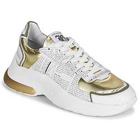 Obuća Žene  Niske tenisice John Galliano 3646 Bijela / Gold