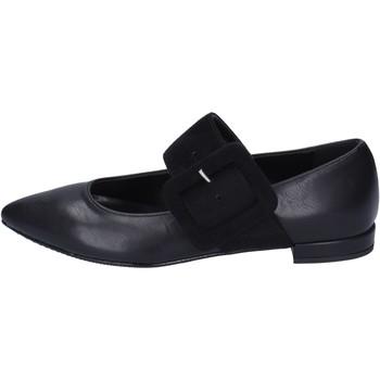 Obuća Žene  Balerinke i Mary Jane cipele Olga Rubini ballerine pelle sintetica Nero