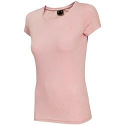 Odjeća Žene  Majice kratkih rukava 4F TSD001 Ružičasta