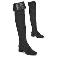 Obuća Žene  Čizme iznad koljena Unisa LUKAS Crna