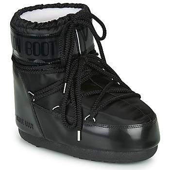 Obuća Žene  Čizme za snijeg Moon Boot MOON BOOT CLASSIC LOW GLANCE Crna