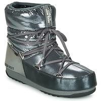 Obuća Žene  Čizme za snijeg Moon Boot MOON BOOT LOW SAINT MORITZ WP Siva