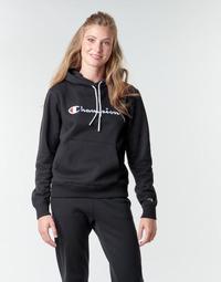 Odjeća Žene  Sportske majice Champion HEAVY COMBED COTTON FLEECE Crna
