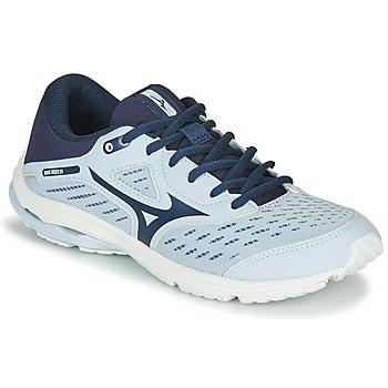 Obuća Djevojčica Running/Trail Mizuno WAVE RIDER JR Blue