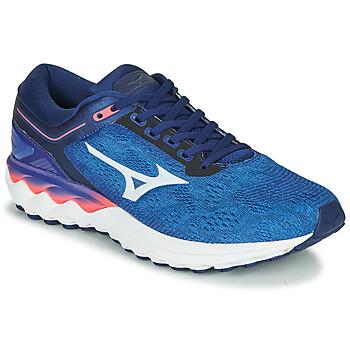 Obuća Muškarci  Running/Trail Mizuno WAVE SKY RISE Blue