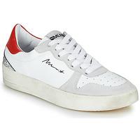 Obuća Žene  Niske tenisice Meline STRA5007 Bijela / Red