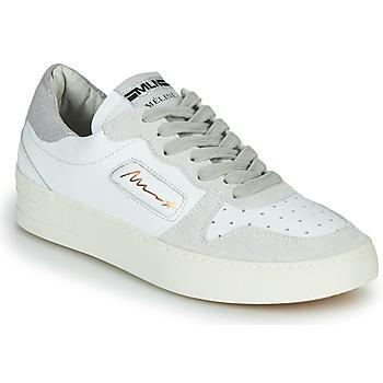 Obuća Žene  Niske tenisice Meline STRA-A-1060 Bijela / Bež