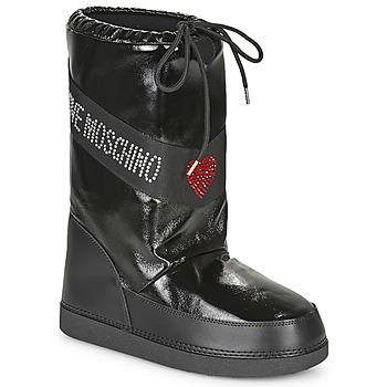 Obuća Žene  Čizme za snijeg Love Moschino JA24022G1B Crna