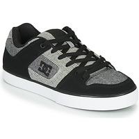 Obuća Muškarci  Niske tenisice DC Shoes PURE Crna / Siva