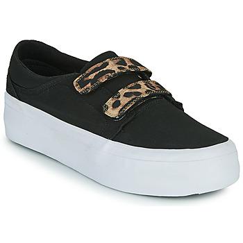 Obuća Žene  Visoke tenisice DC Shoes TRASE PLATEFORM V Crna