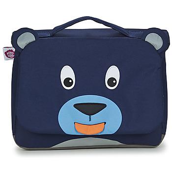 Torbe Djeca Školske torbe Affenzahn BOBO BEAR Blue