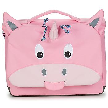 Torbe Djevojčica Školske torbe Affenzahn ULRIKE UNICORN Ružičasta