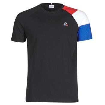 Odjeća Muškarci  Majice kratkih rukava Le Coq Sportif ESS TEE SS N°10 M Crna