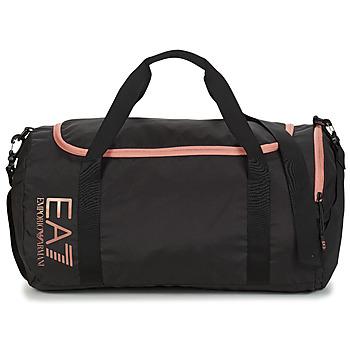 Torbe Žene  Sportske torbe Emporio Armani EA7 TRAIN CORE U GYM BAG SMALL Crna / Ružičasta