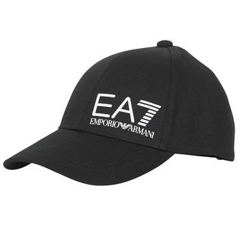 Tekstilni dodaci Muškarci  Šilterice Emporio Armani EA7 TRAIN CORE ID M LOGO CAP Crna