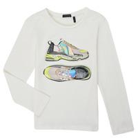 Odjeća Djevojčica Majice dugih rukava Ikks XR10172 Bijela
