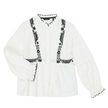 Odjeća Djevojčica Košulje i bluze Ikks XR12022 Bijela