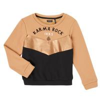 Odjeća Djevojčica Sportske majice Ikks XR15012 Smeđa