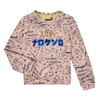 Odjeća Djevojčica Sportske majice Ikks XR15022 Ružičasta