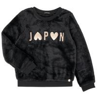 Odjeća Djevojčica Sportske majice Ikks XR15042 Crna